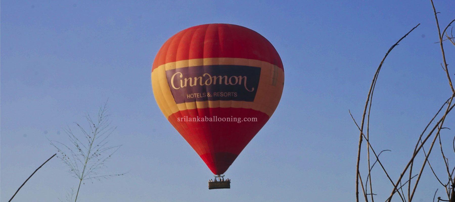 Sunrise Ballooning – Kandalama, Dambulla. Sri Lanka