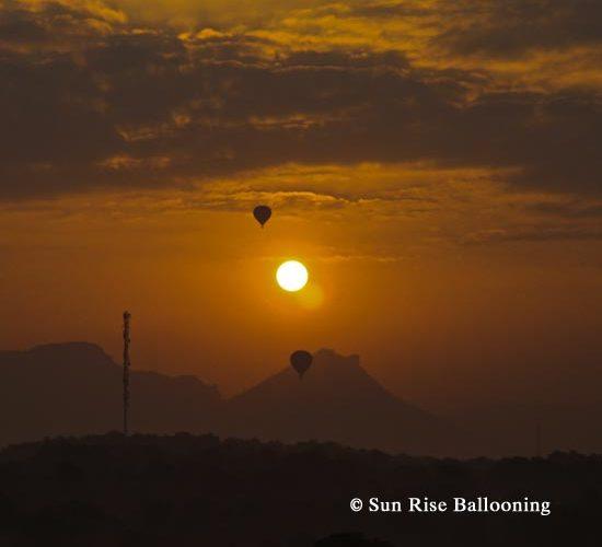 Sunrise Balloon rides in Sri Lanka